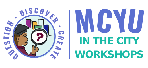 MCYU in the City Workshops logo